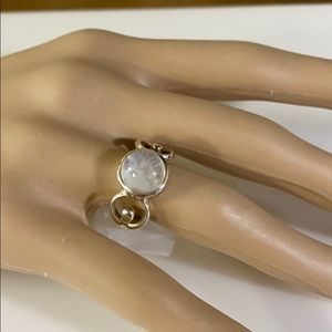 Jewelry - Sterling White Moonstone Ring